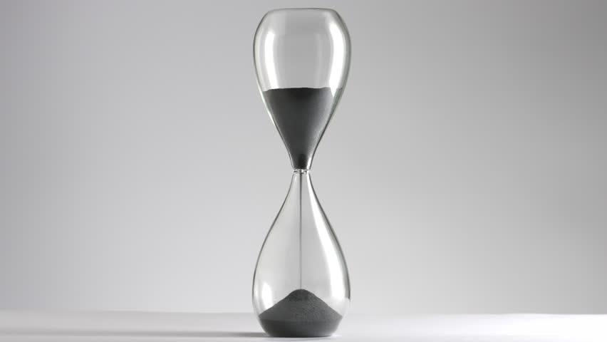 Sanduhr Hourglass White 1 Heigh Speed