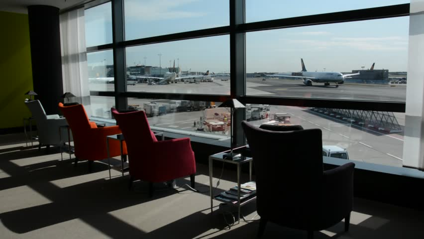 FRANKFURT GERMANY AUGUST 26 2016 Airplanes At The Terminal Of Frankfurt International Airport