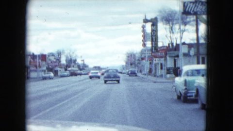LAS VEGAS, NEVADA 1959: a driving tour observing restaurants and hotels in the city