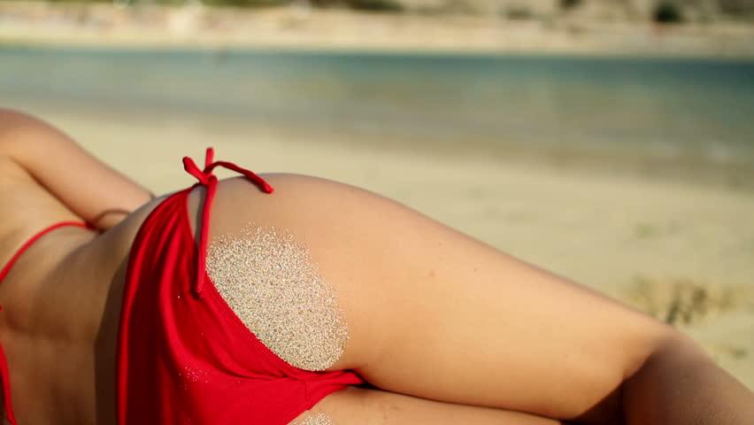 Sexy womens nude ass
