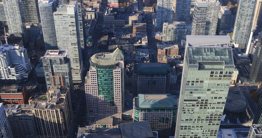 4K UltraHD Aerial view over Toronto streets | Shutterstock HD Video #21398752
