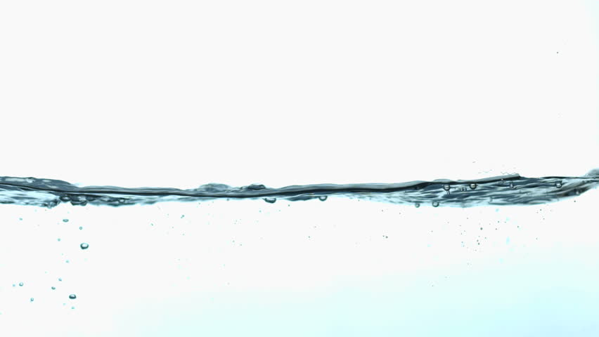 Slow motion side view of water wave | Shutterstock HD Video #21467590