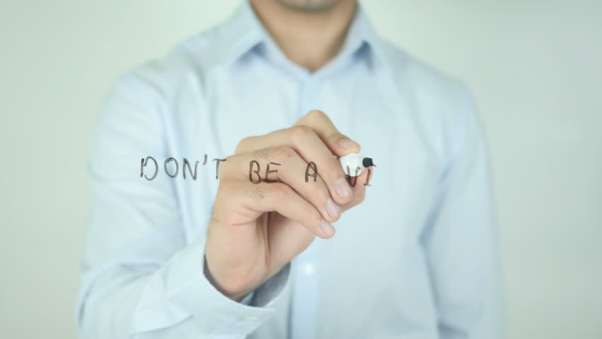 Don't be a Victim, Writing On Transparent Screen | Shutterstock HD Video #21473740
