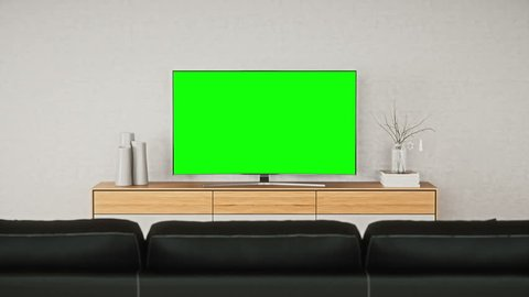 Television In The Living Room