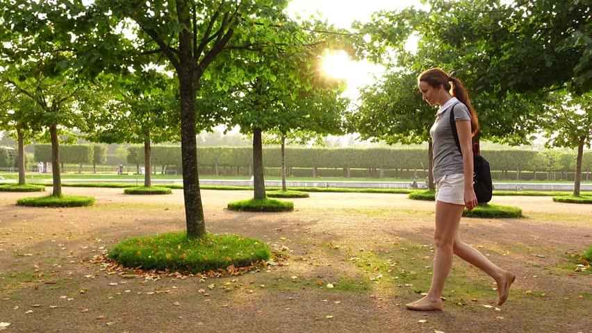 Light coming through footage page 6 stock clips - When you walk through the garden ...