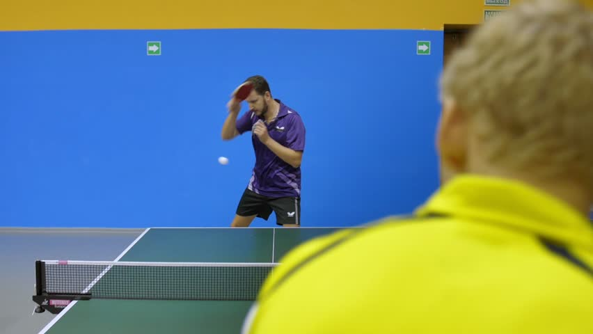 Quick Game of Table Tennis | Shutterstock HD Video #21729016