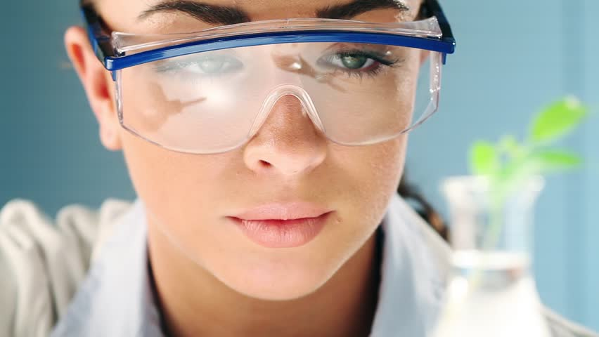 Scientist conducting research in laboratory for fossil fuel | Shutterstock HD Video #2173931