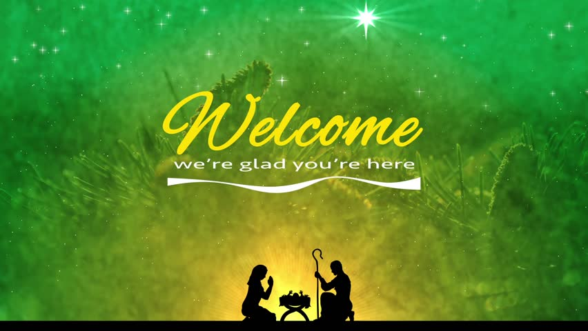 Church Welcome Christmas Stock Footage Video Shutterstock