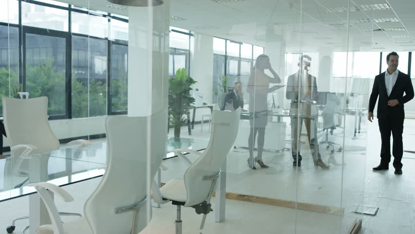 Stock Video Clip Of 4K Corporate Business Group Take Seats For |  Shutterstock