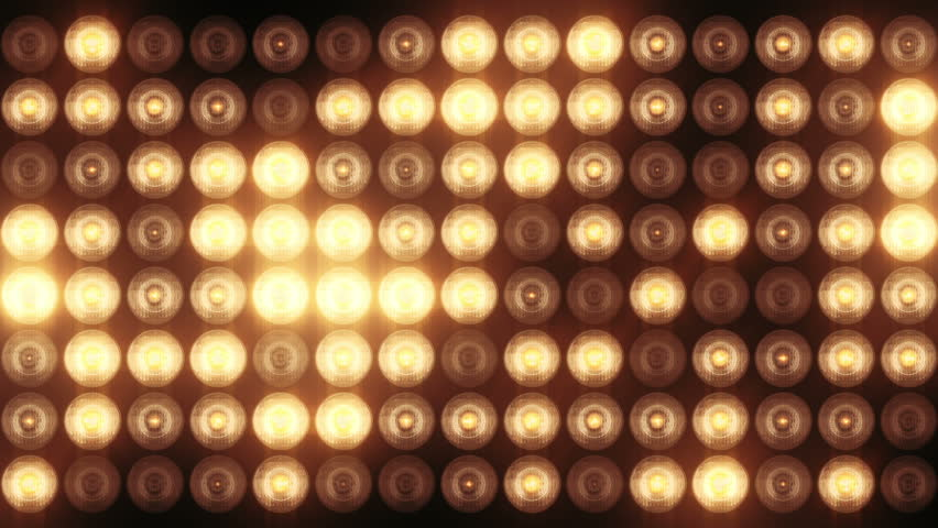 Animation Of Flashing Light Bulbs Stock Footage Video 100