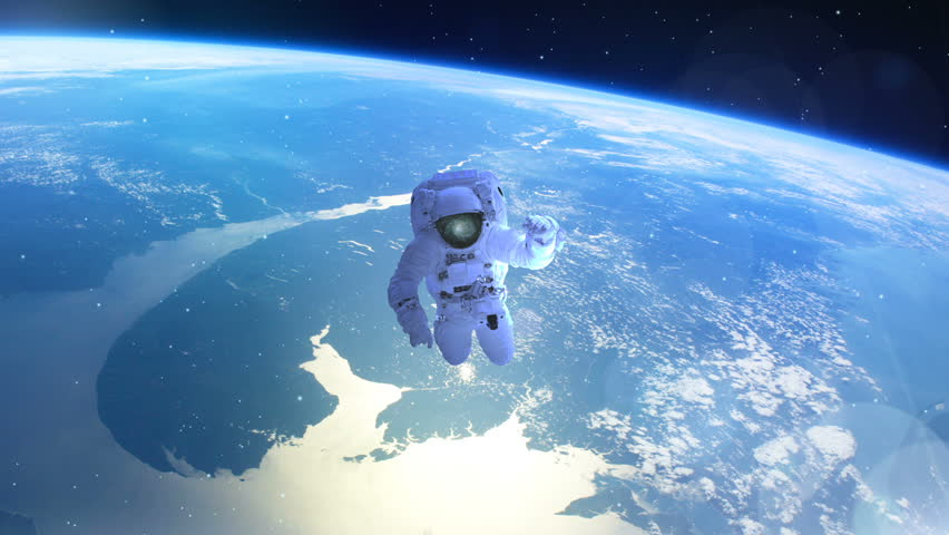 astronaut drifts into space - photo #11