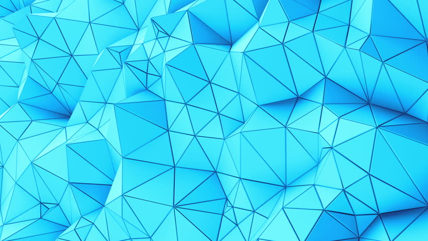Triangle blue Background. Seamlessly Loopable. Low Poly Polygonal geometric surface. Computer generated seamless loop abstract motion background. 4k UHD (3840x2160). Background for text.   Shutterstock HD Video #21977704