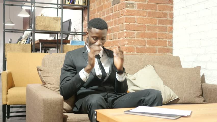 Headache, Frustration, Tension, Depressed Businessman | Shutterstock HD Video #21983110