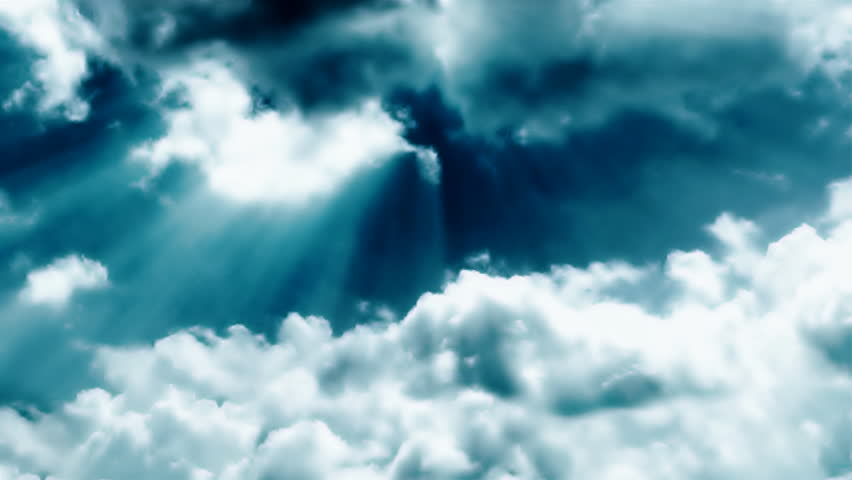 Stormy Clouds : Time Lapse with Slow Motion