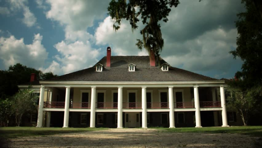 Timelapse of Destrehan Manor House, New Orleans, Louisianna.