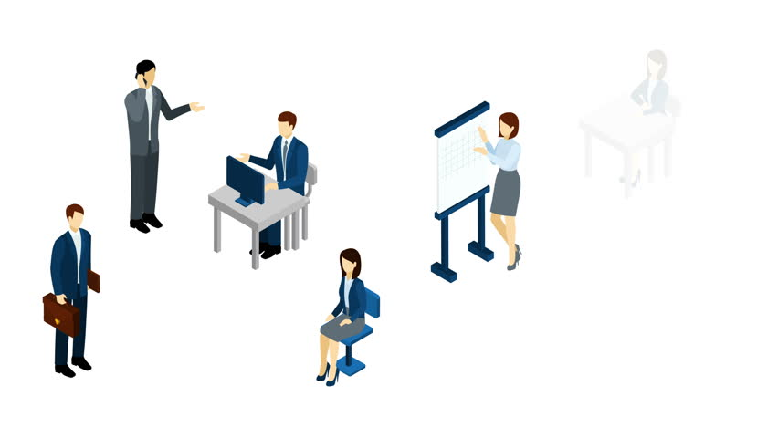 Animated Business Office
