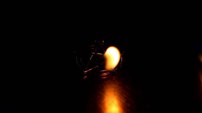 Lighting A Dark Room lamp in a dark room lit the lamp, then stewed, dark room, light a
