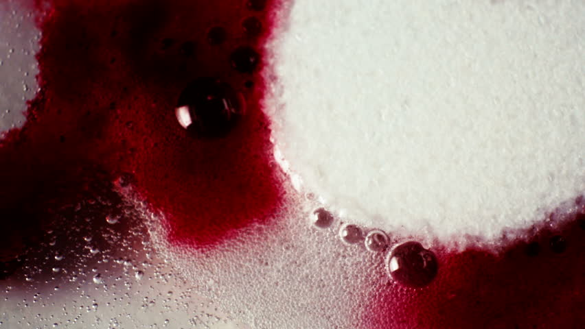 The effervescent tablet is dissolved in water