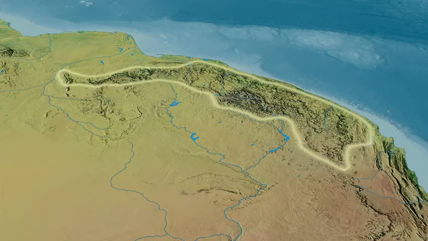 AERIAL United StatesNorth Platte River Stock Footage Video - Map of us mountain ranges and rivers