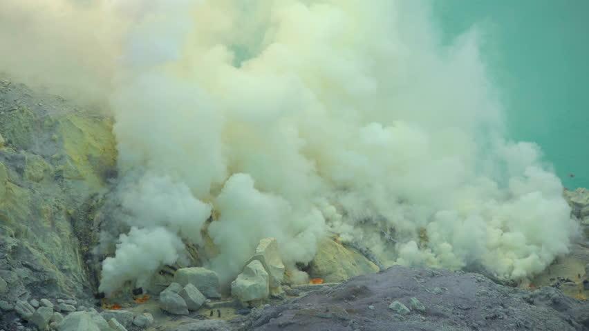 Header of sulphur