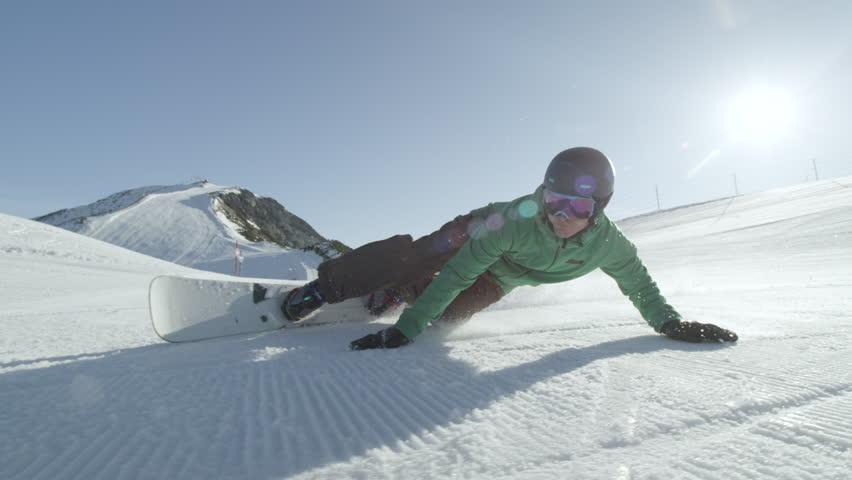 Snowboard stock footage video shutterstock
