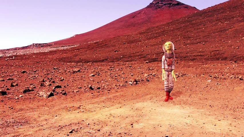 Alien Dance on Mars