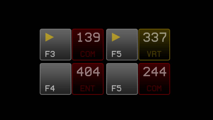 4k IT software data interface numbers. 6412_4k | Shutterstock HD Video #22625770