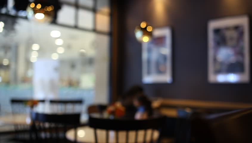 On the table at cafe blurred background | Shutterstock HD Video #22749430