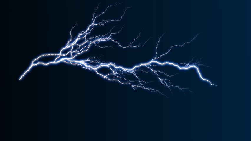 Lightning with alpha channel | Shutterstock HD Video #227800