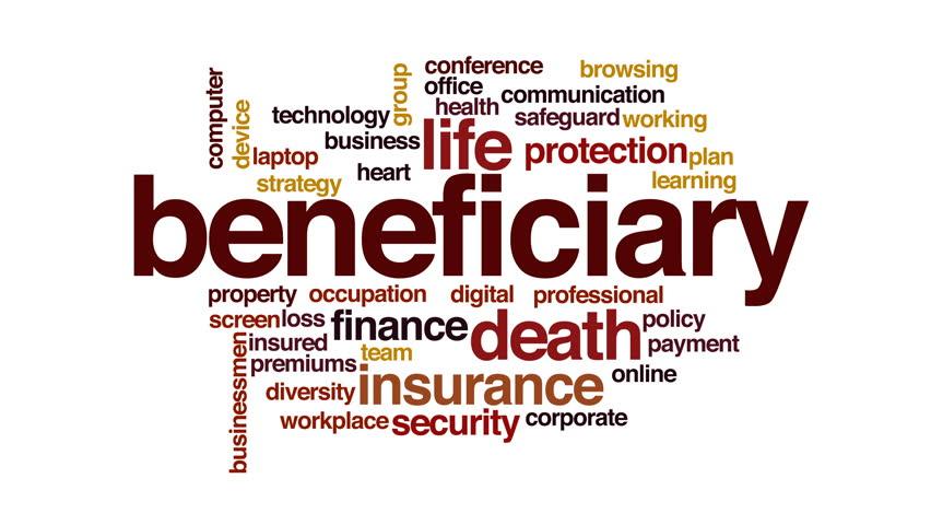 Header of beneficiary