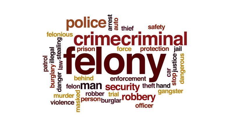 Header of felony