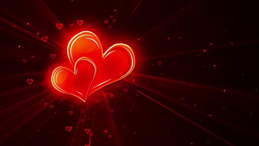 Colorful Valentine BG Useful For TV Channel Promosdesktop Screen Savervideo Presentation