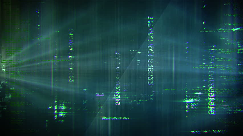 Hacker Data Matrix with Numbers flying by. For explaining movies, web- advertising agencies, documentation, presentation about web, internet, security, hacking, data exchange, server, encryption etc.