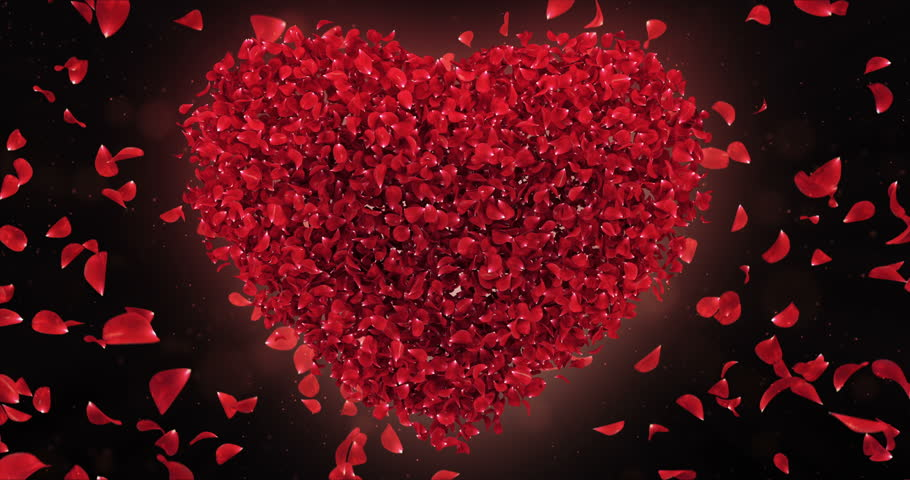 Stock video of romantic flying red rose flower petals 23244580 stock video of romantic flying red rose flower petals 23244580 shutterstock stopboris Image collections