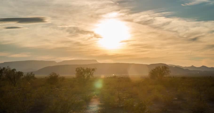 Arizona Desert SunSet/ SunRise Time Lapse in 4k
