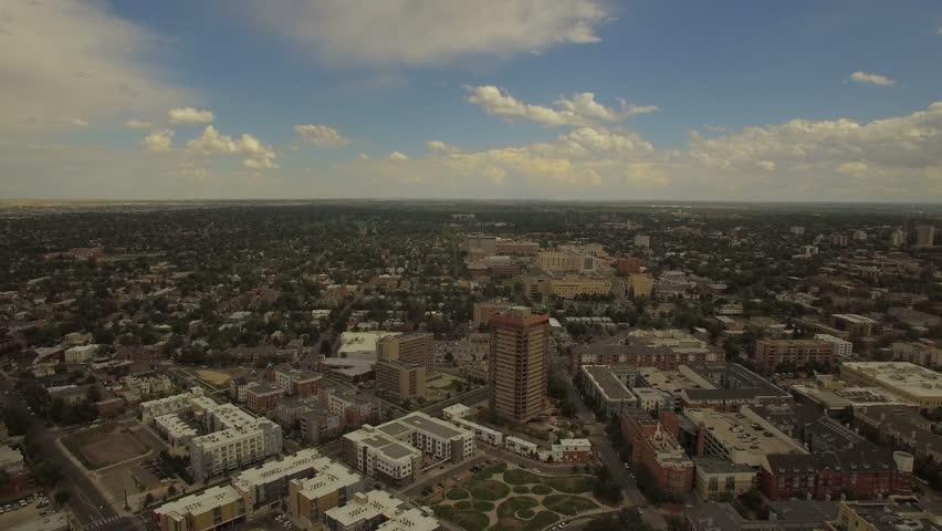 Aerial Colorado Denver 4K Aerial video of Denver in Colorado. | Shutterstock HD Video #23278180