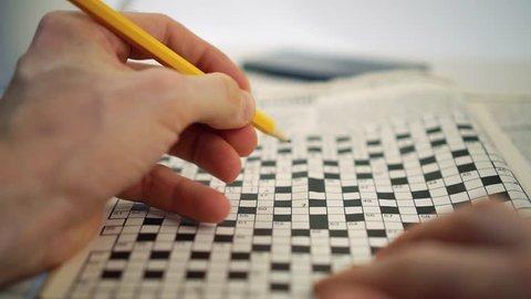 brain train games - crossword puzzle