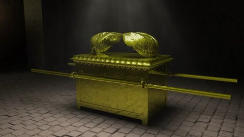 Ark of the Covenant. The ancient Israelite artifact shown here in superb high definition.