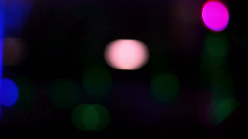 Abstract blurred bokeh at night light. | Shutterstock HD Video #23358850