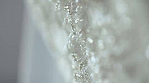 Diamond Brooch at Luxury Wedding Dress