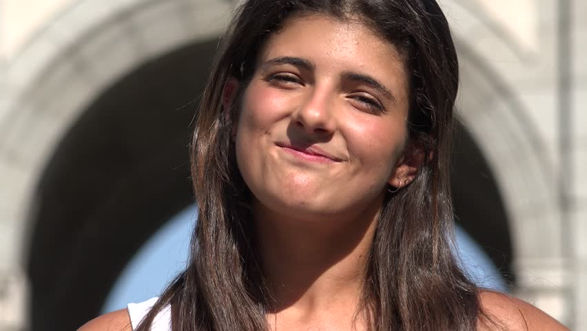 Smiling Woman Happy Female