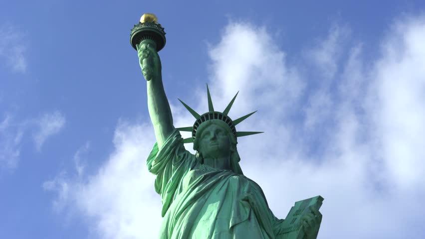 Statue of Liberty medium shot - New York City | Shutterstock HD Video #23642260