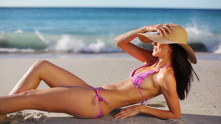 brazil woman walking topless