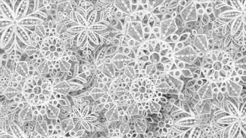 4k Snowflake snow chrismas flower design pattern background. 7084_4k