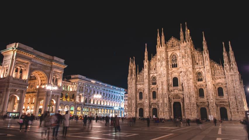 Galleria Vittorio Emanuele Ii Night