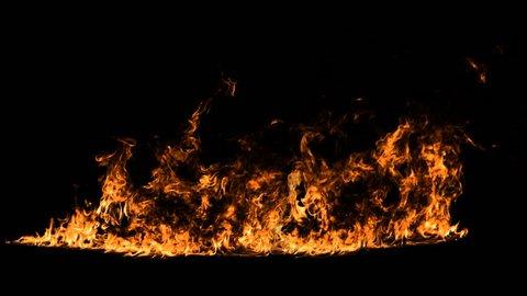 Fire line. HD, alpha.