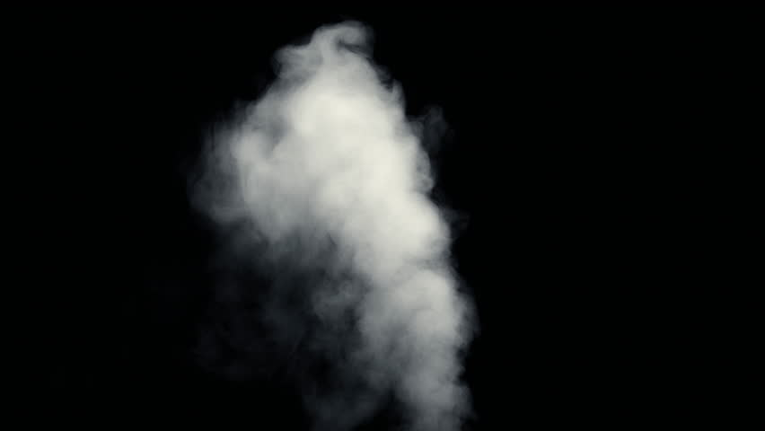 Fire Smoke from Bottom Up Black Background Use...