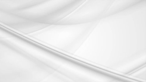 Flowing abstract milk white waves graphic motion design. Video animation grey clip Ultra HD 4K 3840x2160
