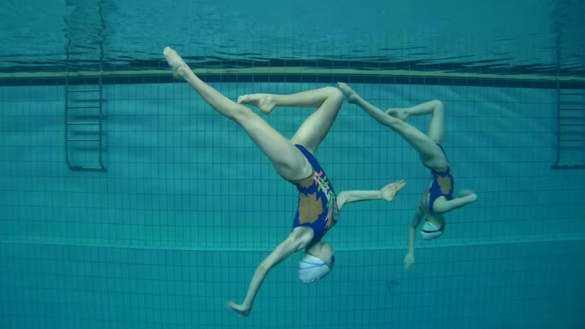 Underwater view of Synchronized Swimming | Shutterstock HD Video #24131830