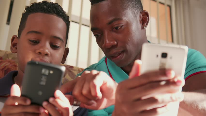 Stock Video Of Happy Black Family At Home African -7127